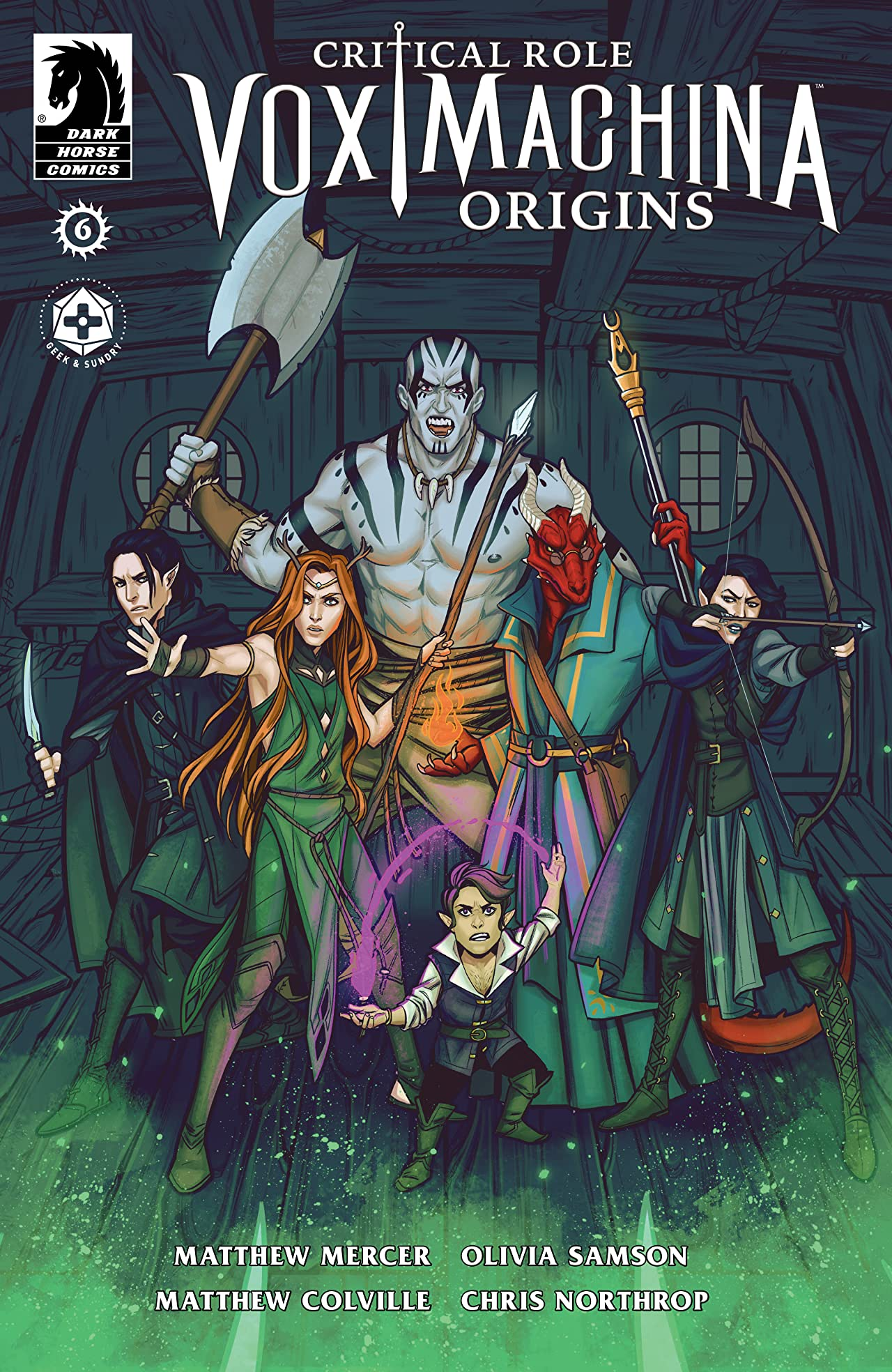 Critical Role: Vox Machina Origins No.6