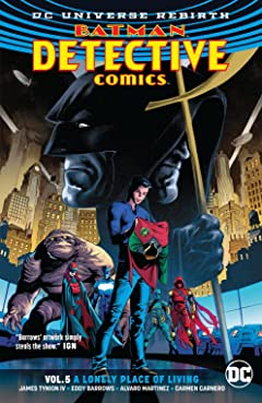 Batman - Detective Comics (2016-) Tome 5: A Lonely Place of Living