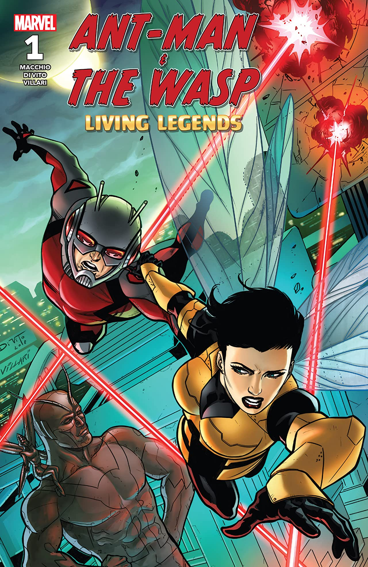 Ant-Man & The Wasp : Living Legends (2018) No.1