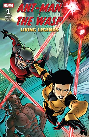 Ant-Man & The Wasp : Living Legends (2018) #1