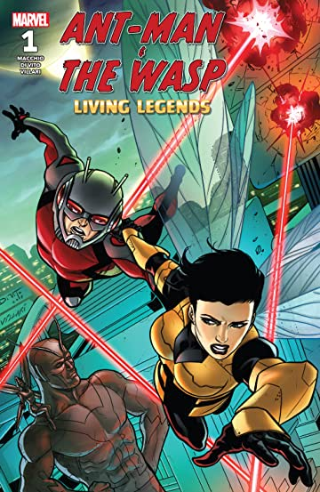 Ant-Man & The Wasp: Living Legends (2018) #1