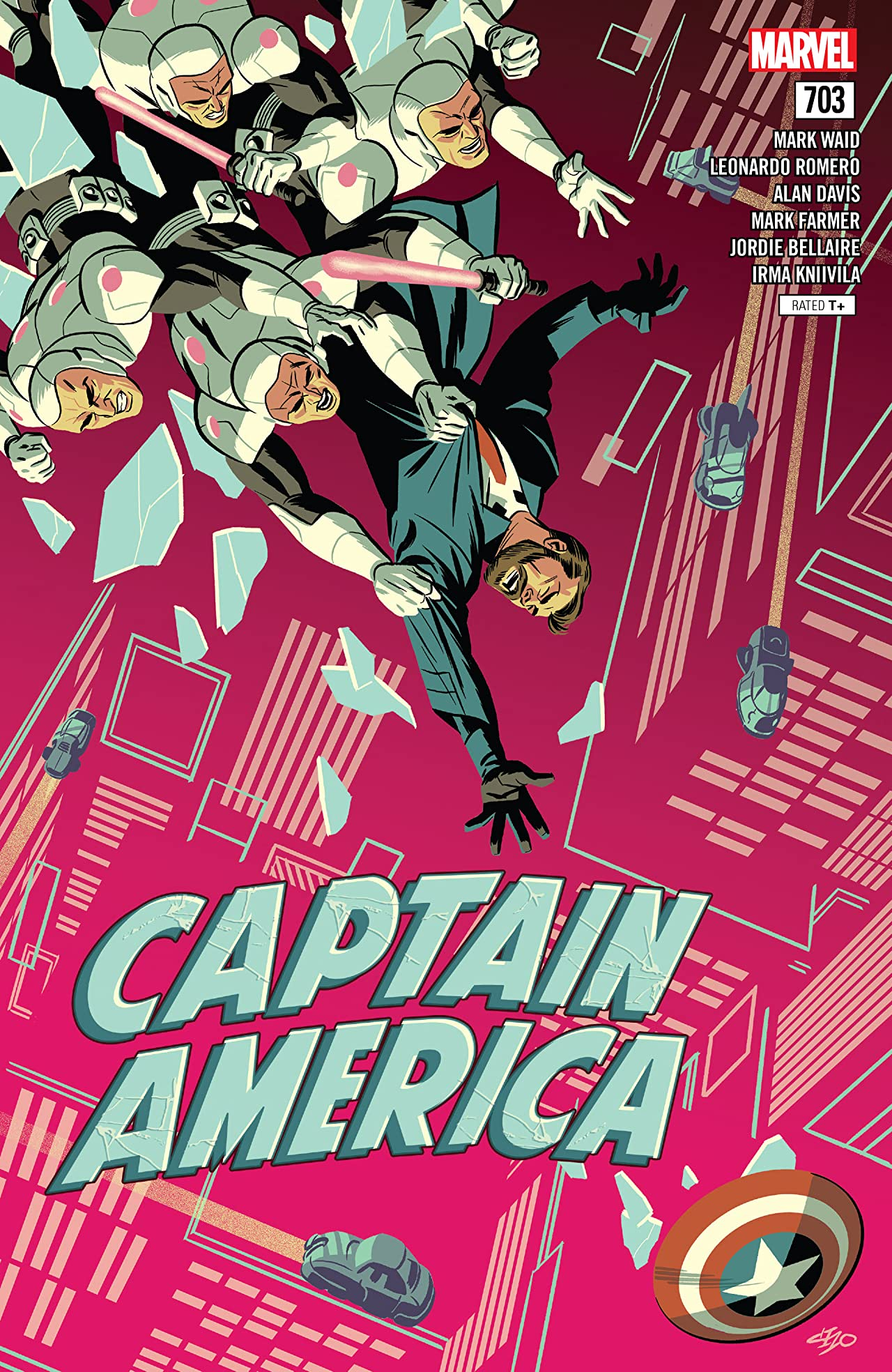 Captain America (2017-) No.703