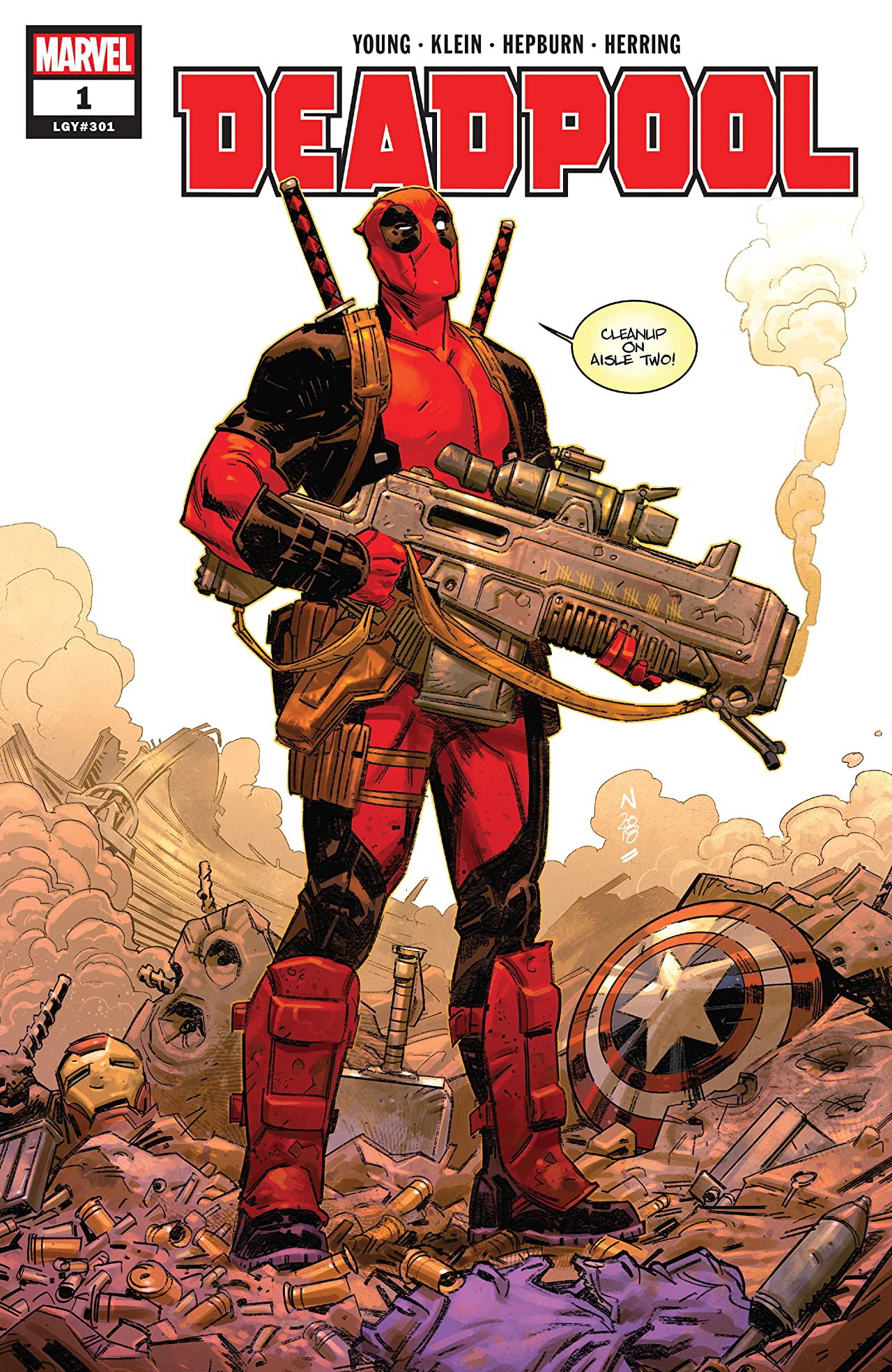 Deadpool (2018-) No.1