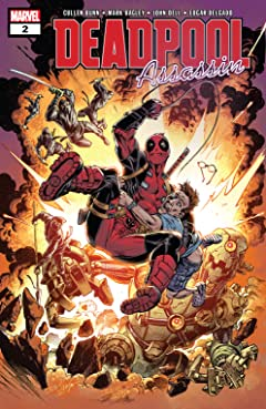 Deadpool: Assassin (2018) No.2 (sur 6)