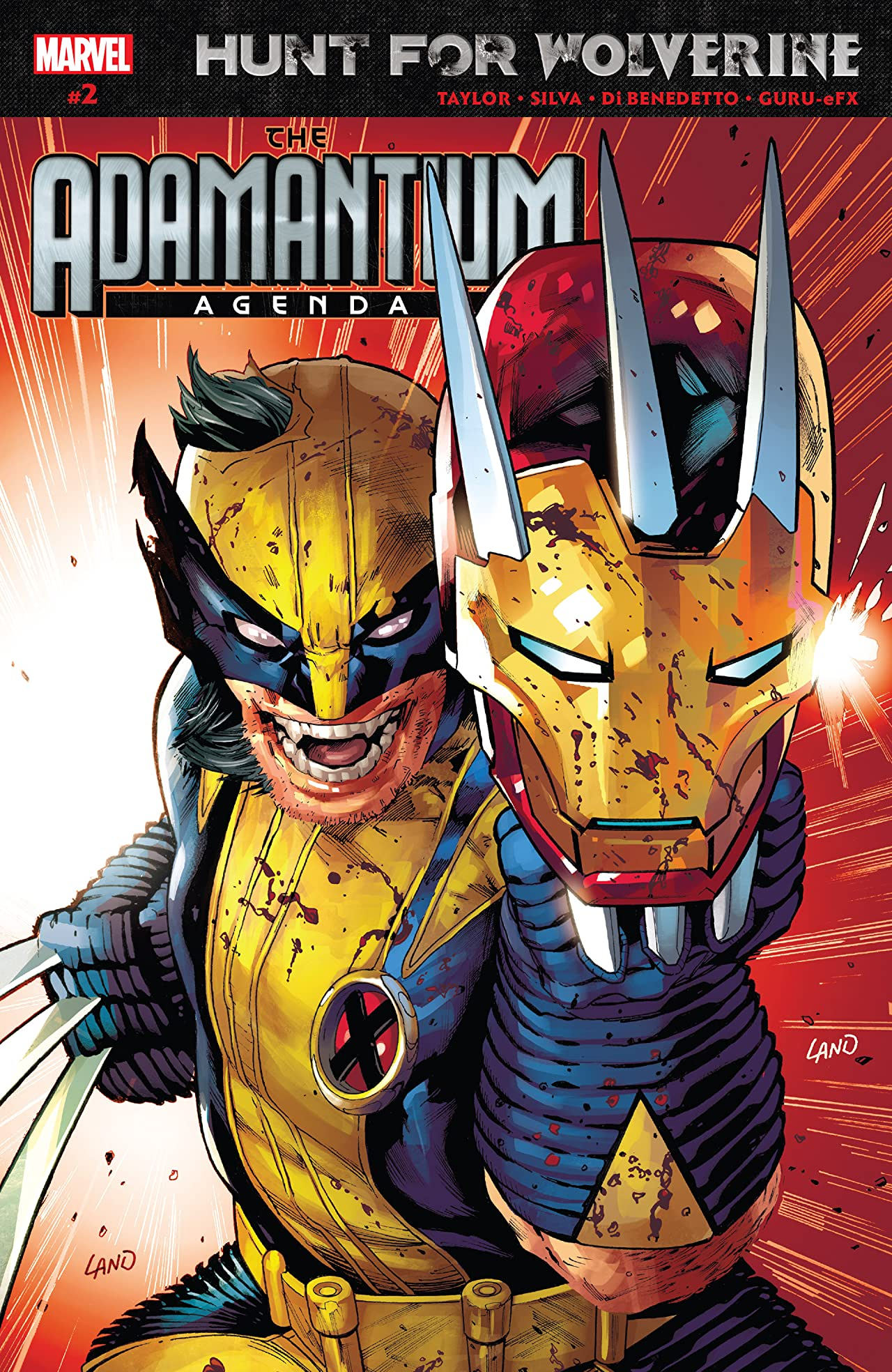 Hunt For Wolverine: Adamantium Agenda (2018) No.2 (sur 4)