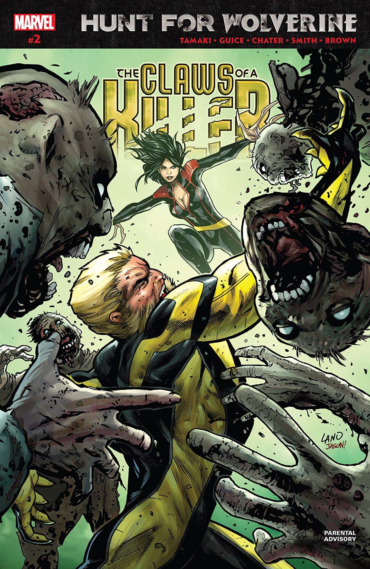 Hunt For Wolverine: Claws Of A Killer (2018) No.2 (sur 4)