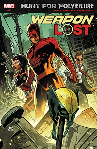 Hunt For Wolverine: Weapon Lost (2018) No.2 (sur 4)
