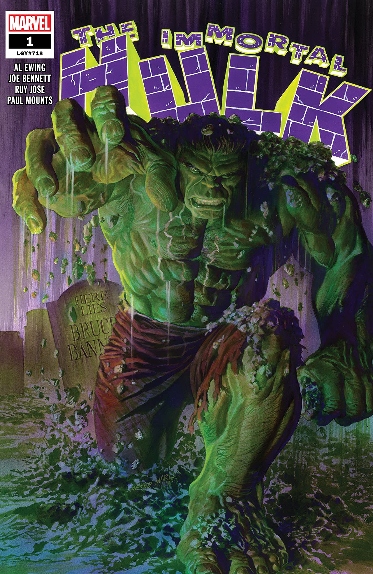 Immortal Hulk (2018-) No.1