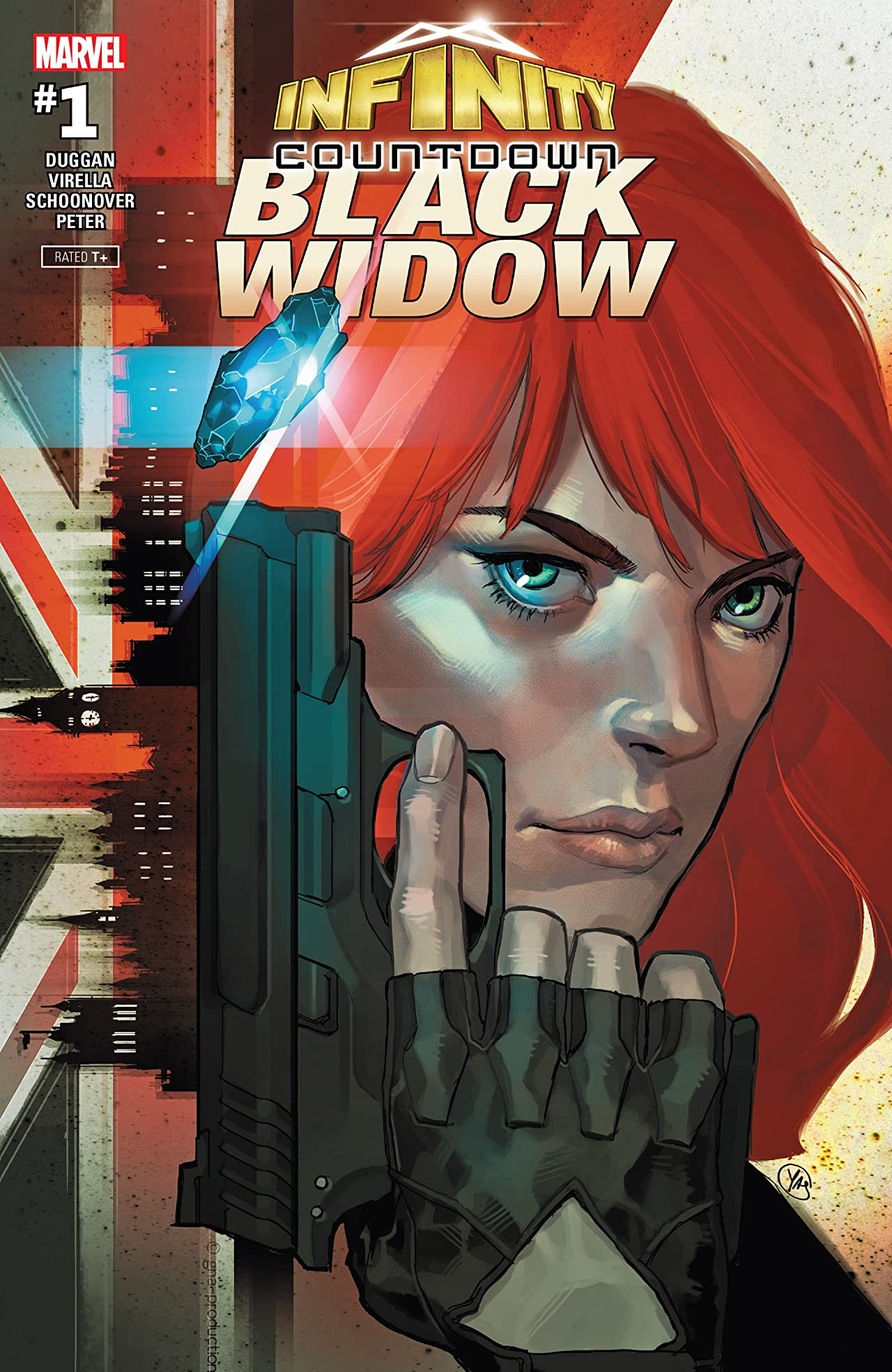 Infinity Countdown: Black Widow (2018) No.1