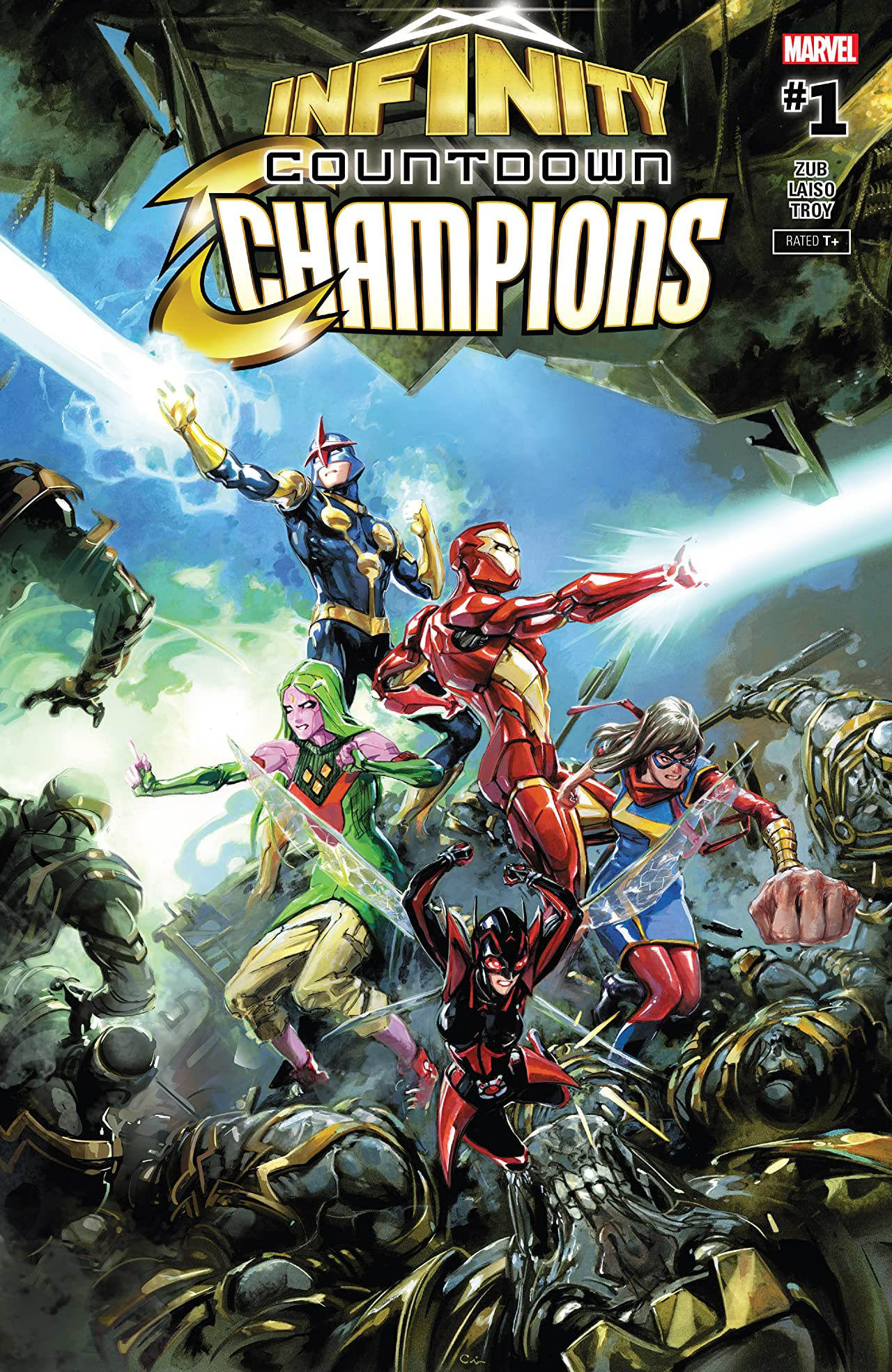 Infinity Countdown: Champions (2018) No.1