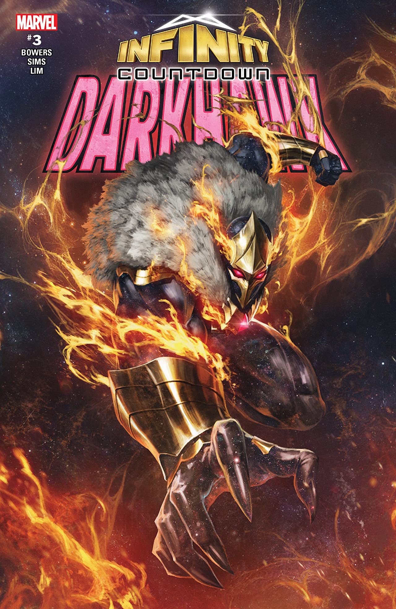 Infinity Countdown: Darkhawk (2018) No.3 (sur 4)