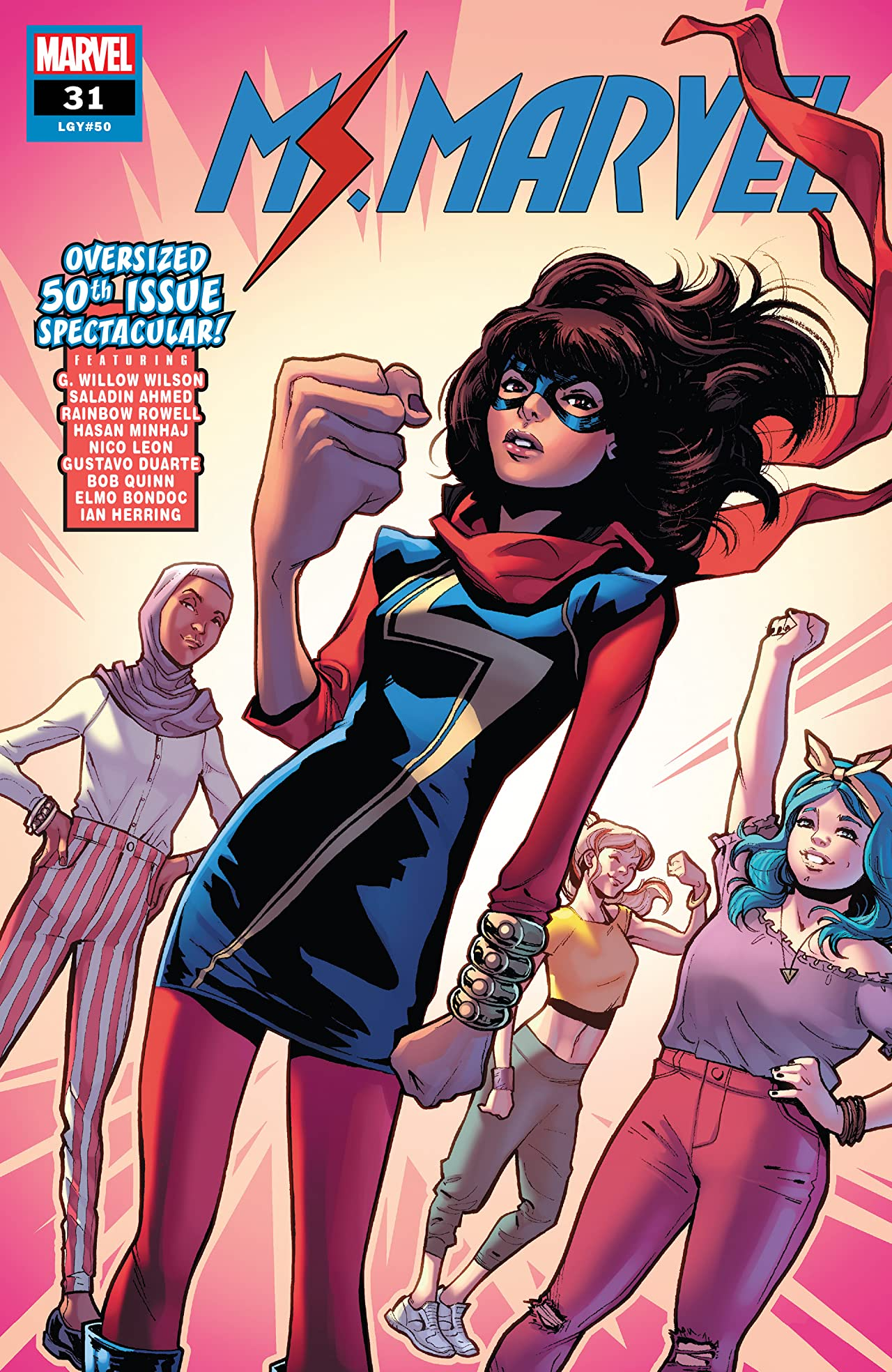 Ms. Marvel (2015-) No.31