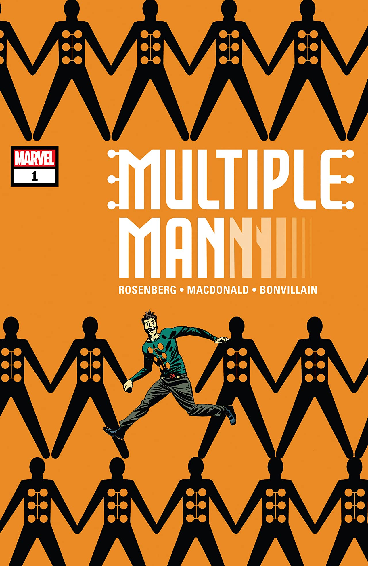 Multiple Man (2018) No.1 (sur 5)