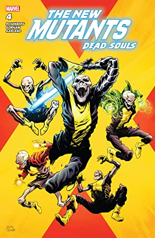 New Mutants: Dead Souls (2018) No.4 (sur 6)