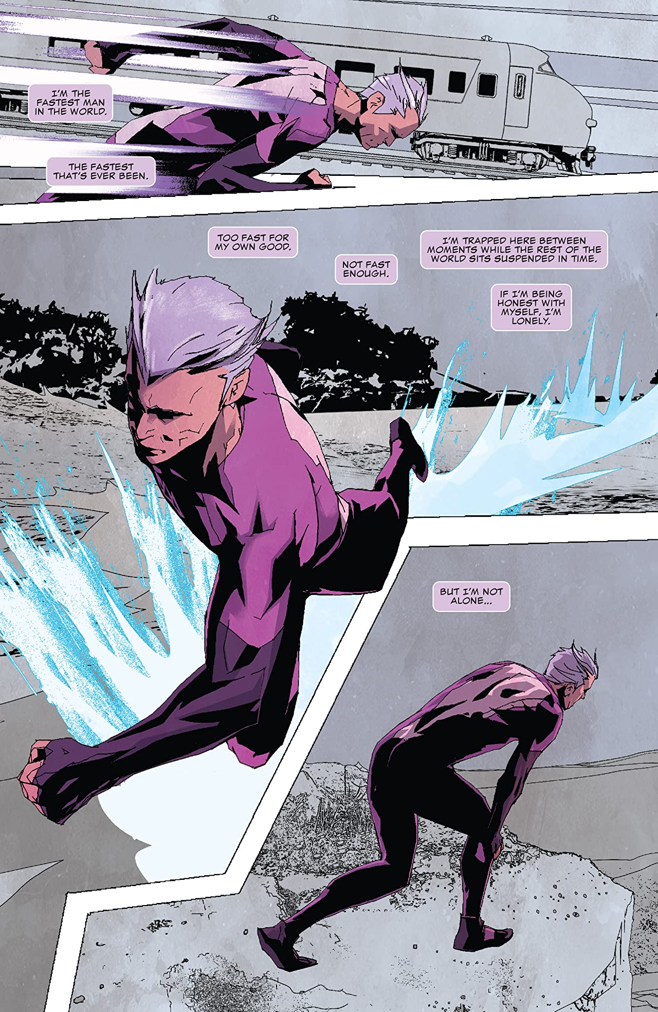 Quicksilver: No Surrender (2018) #2 (of 5)