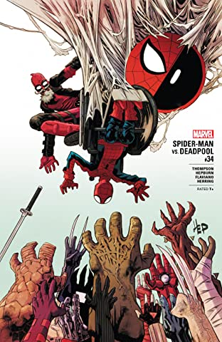 Spider-Man/Deadpool (2016-2019) #34