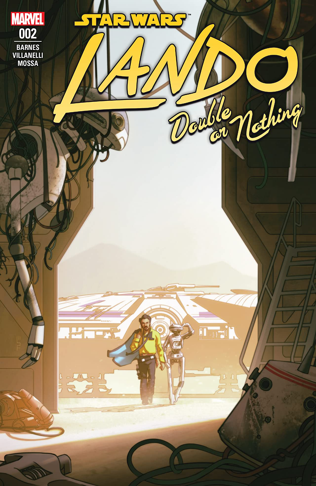 Star Wars: Lando - Double Or Nothing (2018) No.2 (sur 5)