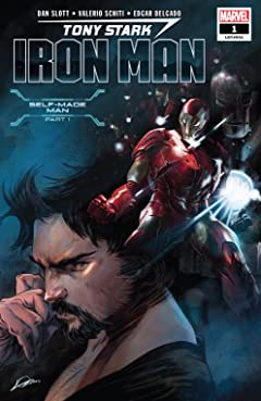 Tony Stark: Iron Man (2018-) #1