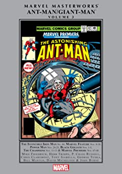 Ant-Man/Giant-Man Masterworks Vol. 3