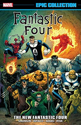 Fantastic Four Epic Collection: The New Fantastic Four