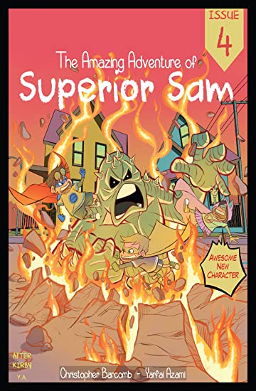The Amazing Adventure of Superior Sam #4