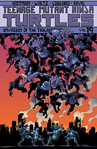 Teenage Mutant Ninja Turtles Tome 19: Invasion of the Triceratons