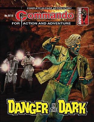 Commando #5113: Danger In The Dark