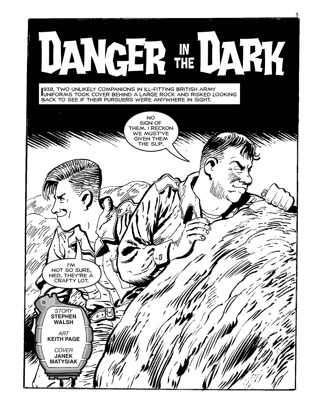 Commando #5113: Danger In The Dark
