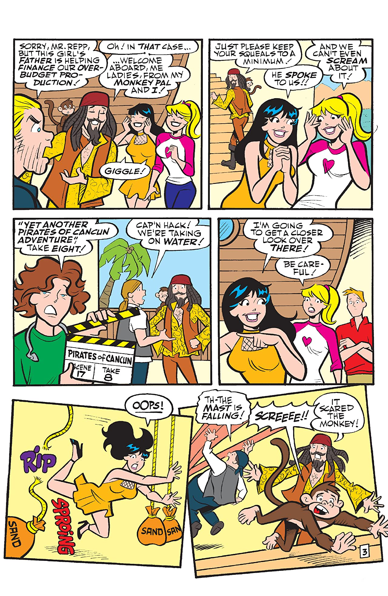 Betty & Veronica Best Friends Forever: At Movies
