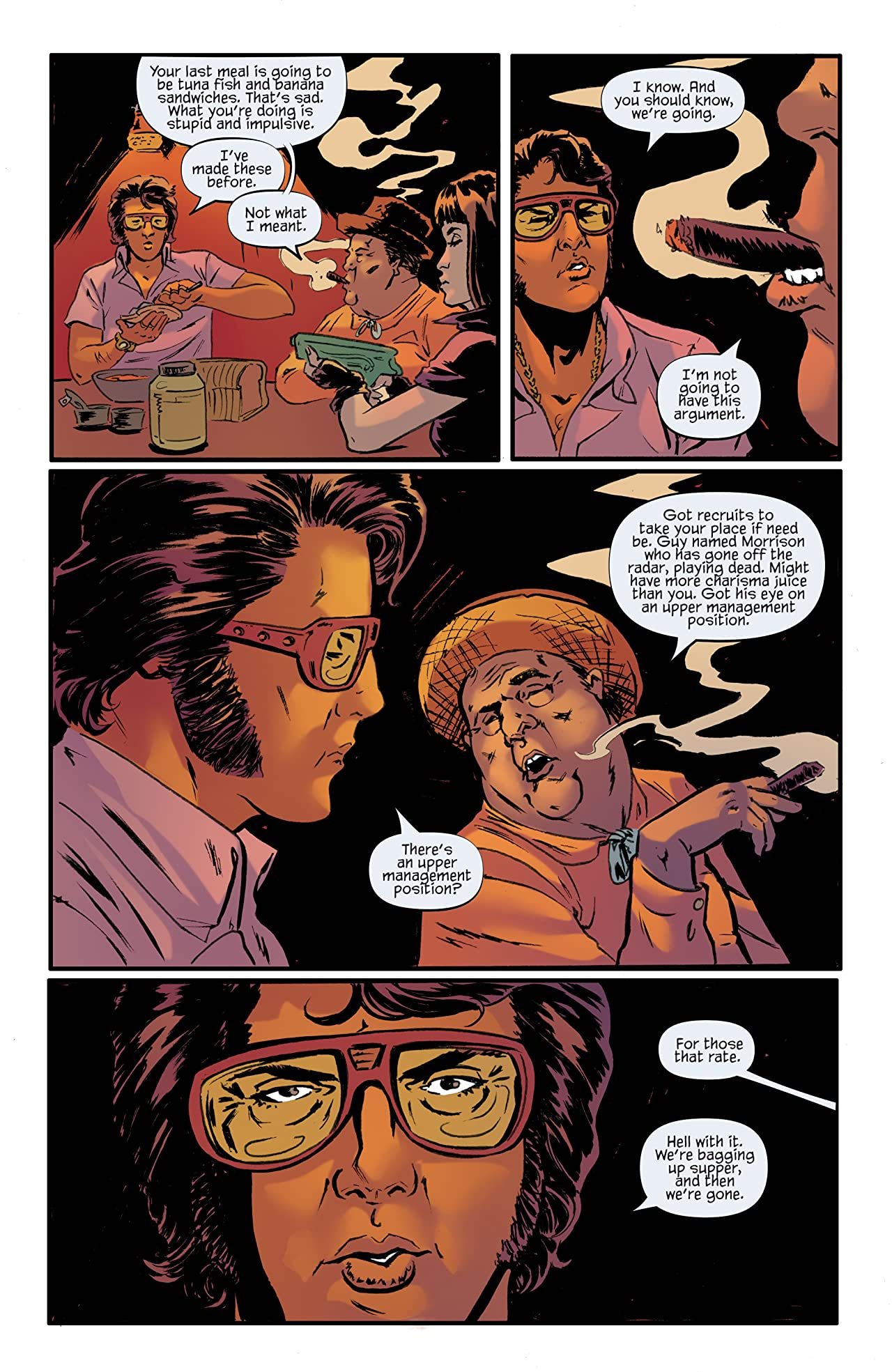 Bubba Ho-Tep and the Cosmic Blood-Suckers #4
