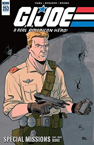G.I. Joe: A Real American Hero #253