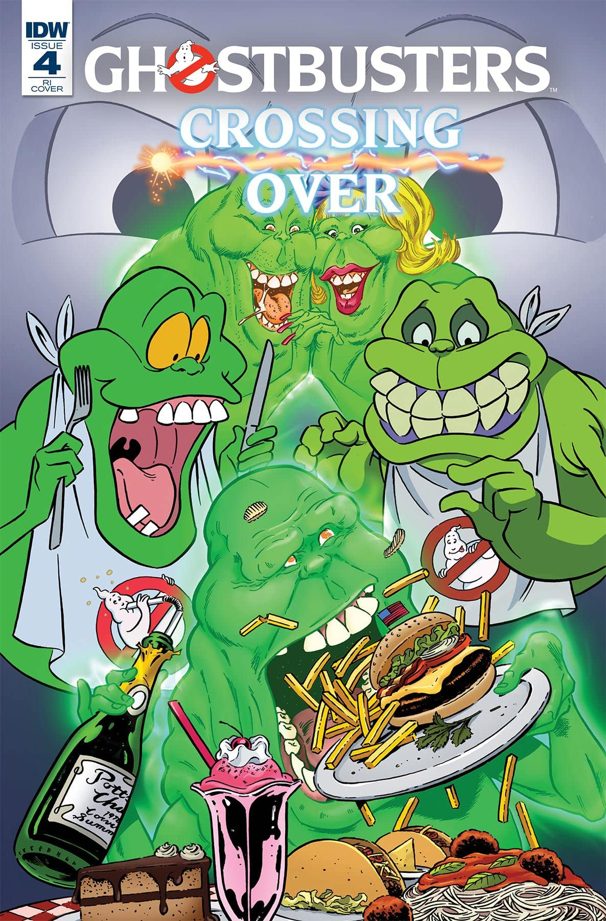 Ghostbusters: Crossing Over #4