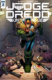 Judge Dredd: Under Siege #2 (of 4)