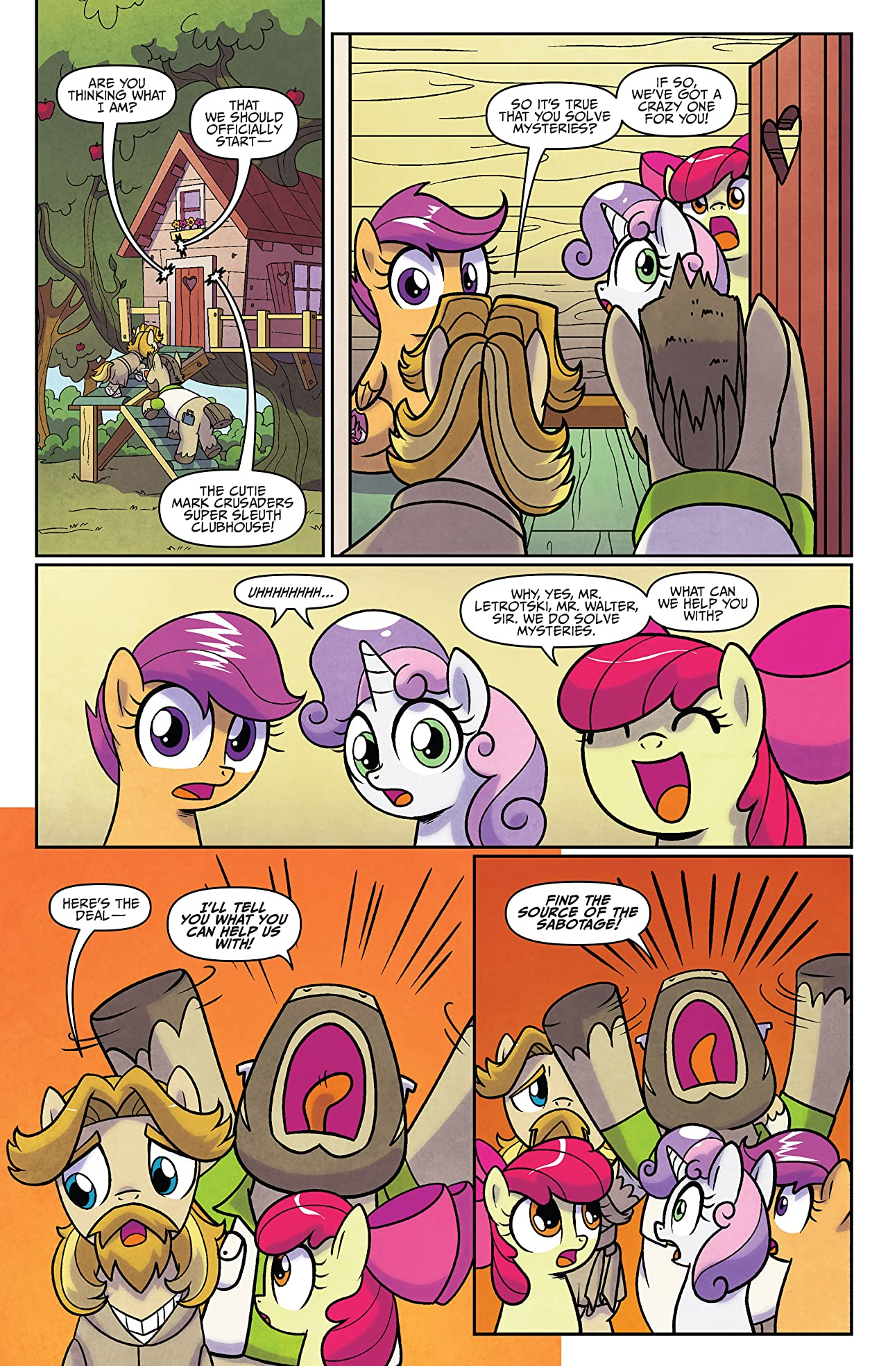 My Little Pony: Ponyville Mysteries #2