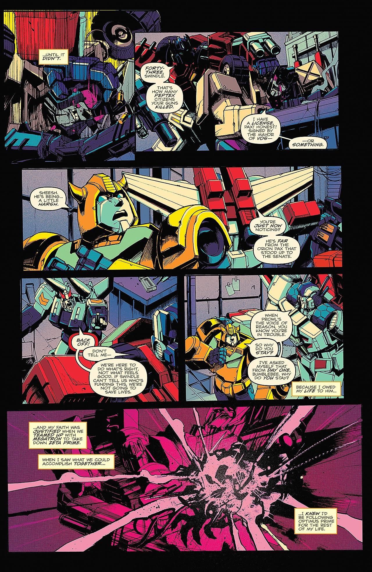 Optimus Prime #20