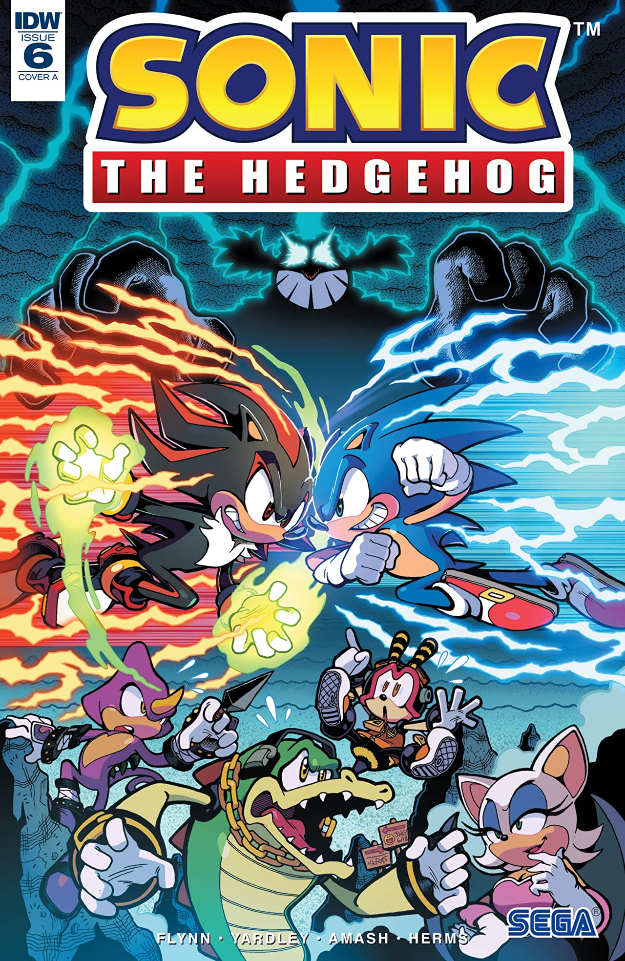 Sonic The Hedgehog (2018-) No.6