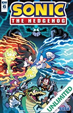 Sonic The Hedgehog (2018-) #6