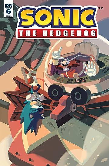 Sonic The Hedgehog (2018-) #6