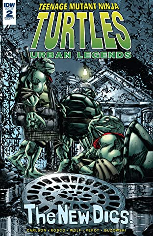 Teenage Mutant Ninja Turtles: Urban Legends No.2