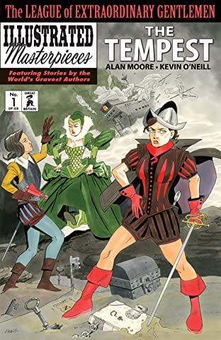 The League of Extraordinary Gentlemen: The Tempest No.1 (sur 6)
