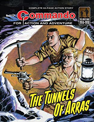 Commando #5117: The Tunnels Of Arras