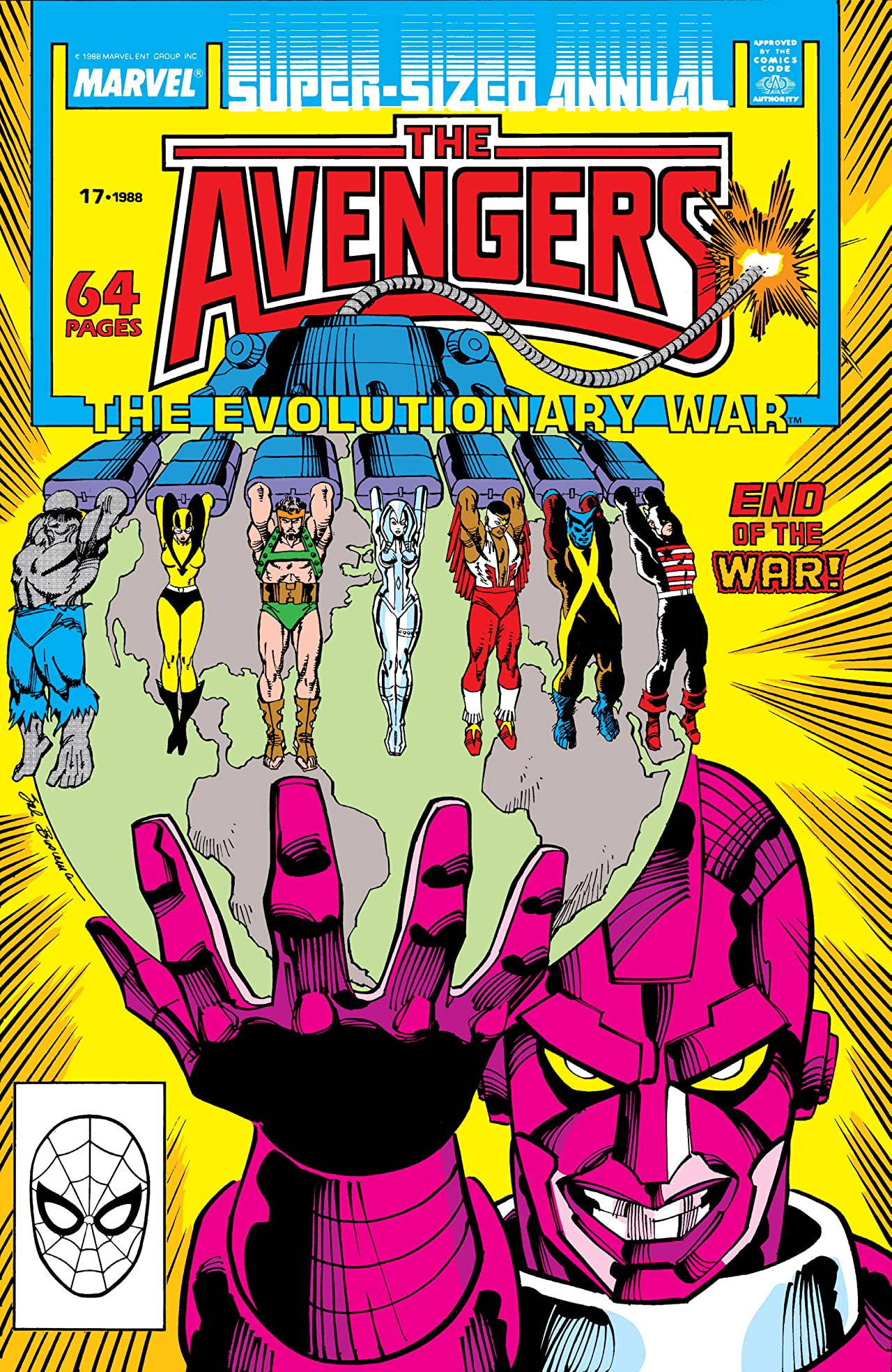 Avengers (1963-1996) Annual #17