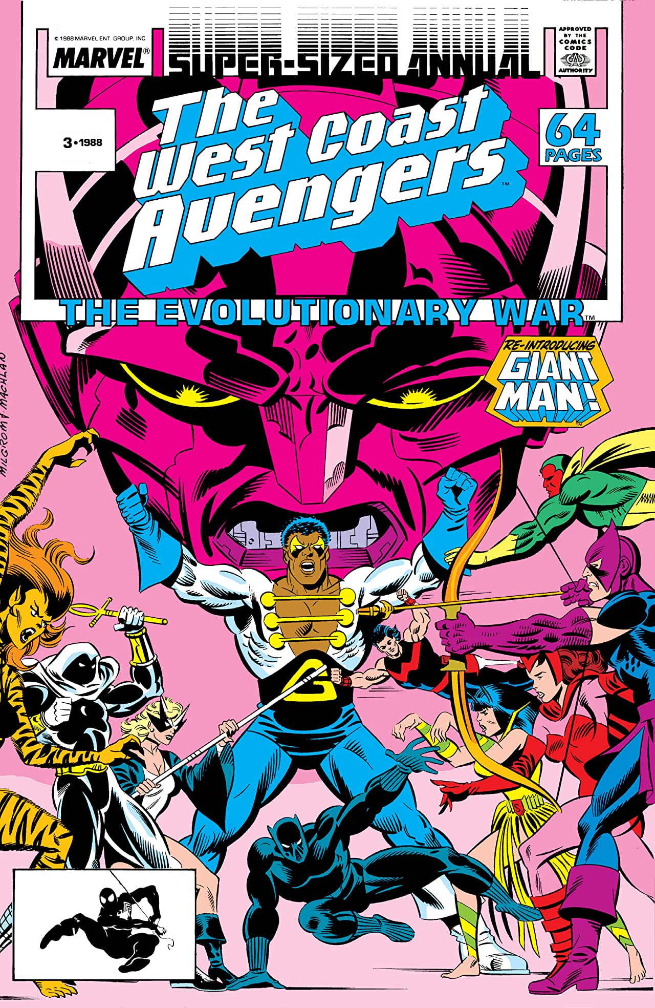 Avengers West Coast (1985-1994) Annual #3