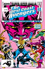 Avengers West Coast (1985-1994) Annual #3