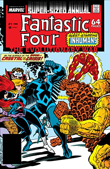 Fantastic Four (1961-1998) Annual #21
