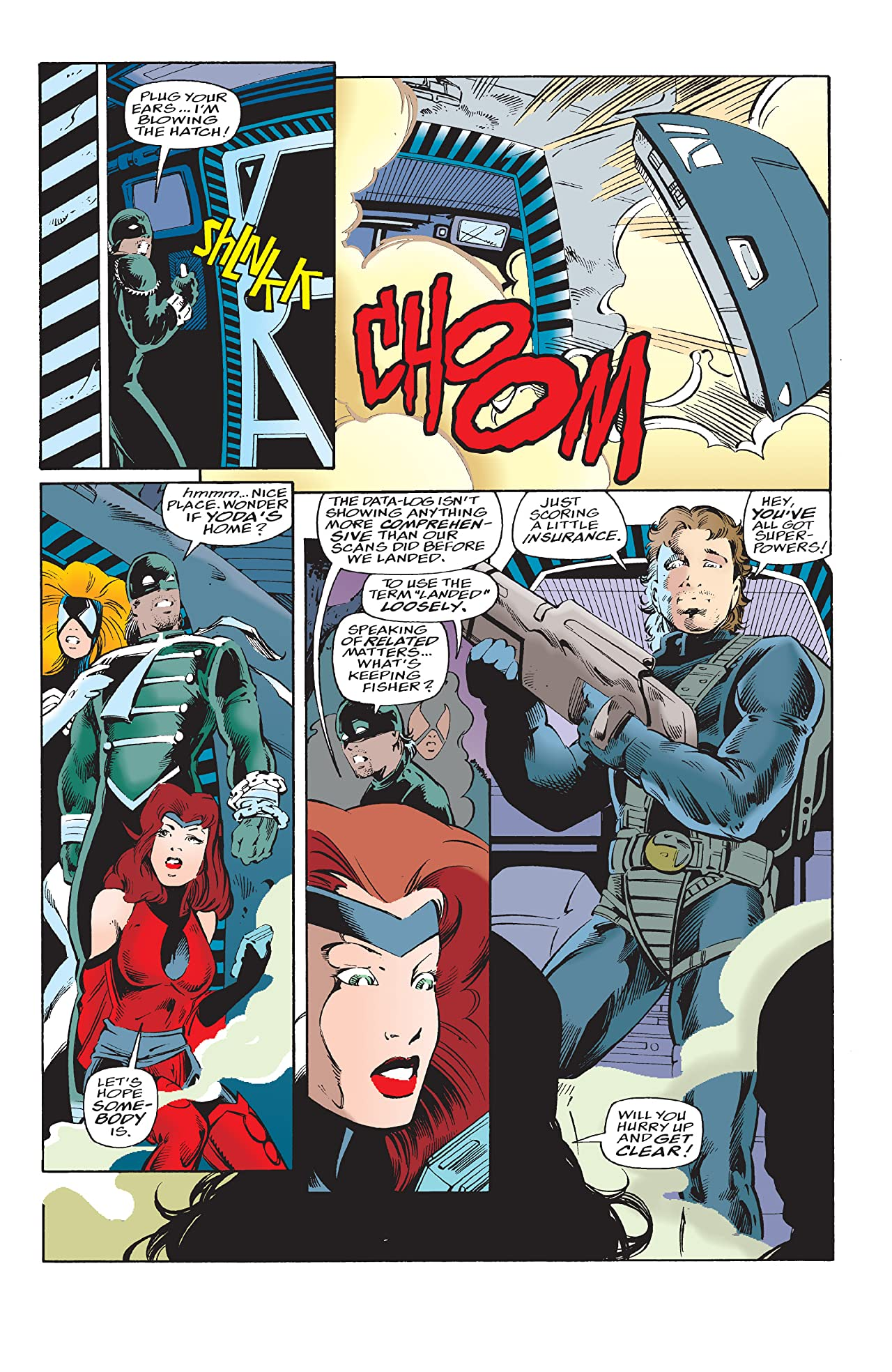 Force Works (1994-1996) #18