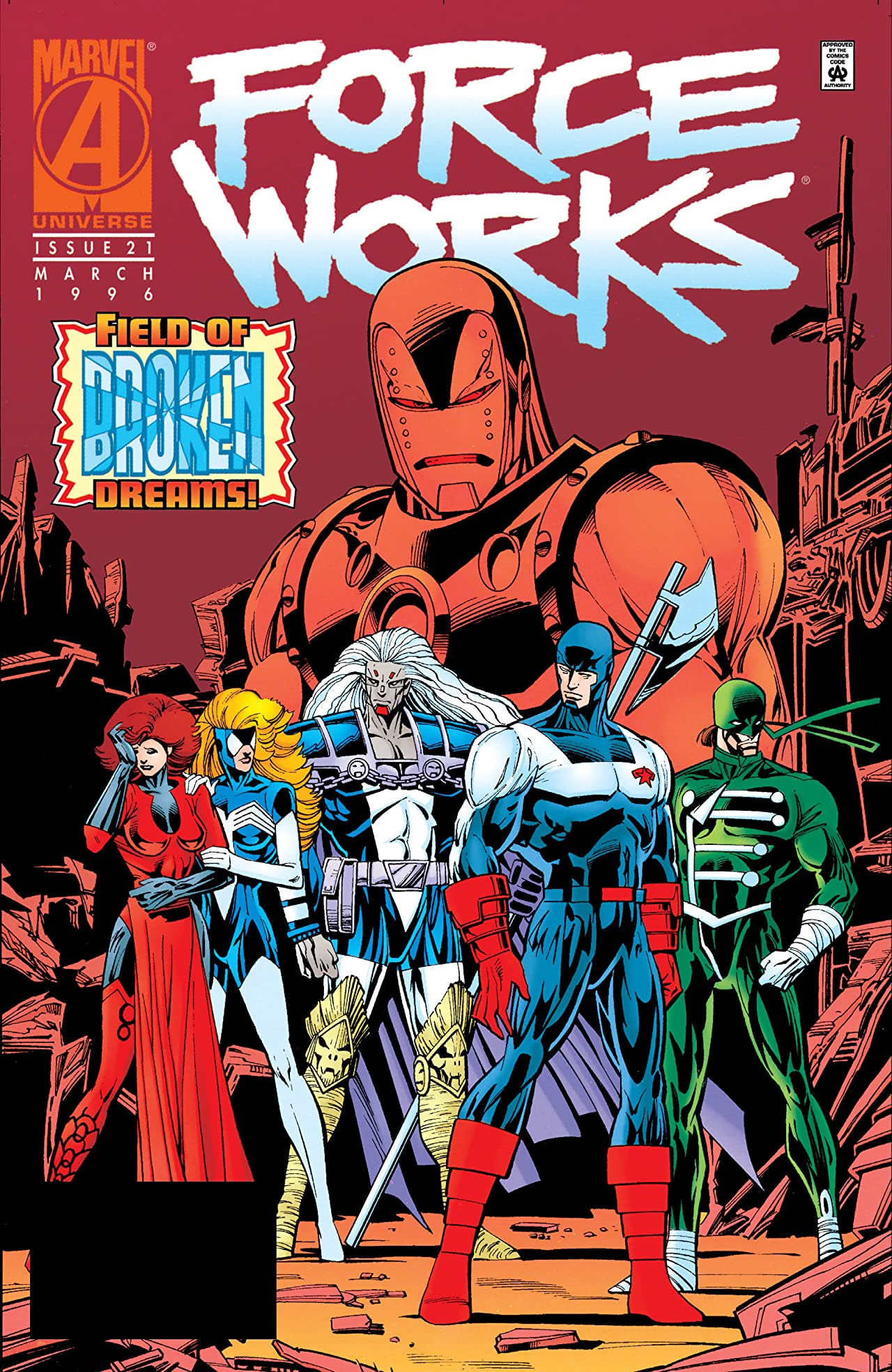 Force Works (1994-1996) #21