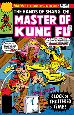 Master of Kung fu (1974-1983) #42