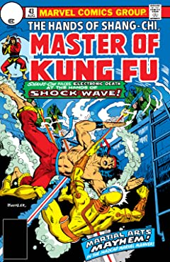Master of Kung fu (1974-1983) #43