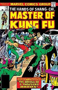 Master of Kung fu (1974-1983) #48